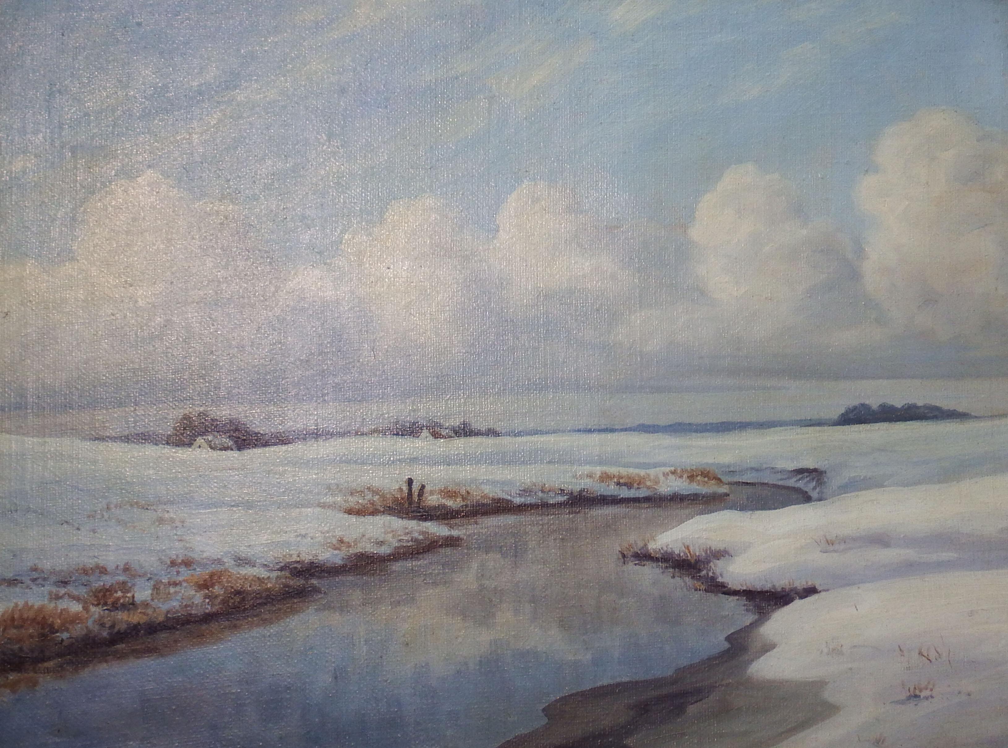 Zima – Najcenniejszy obraz – Karl Emil Lundgreen 1884 - najcenniejszy obraz