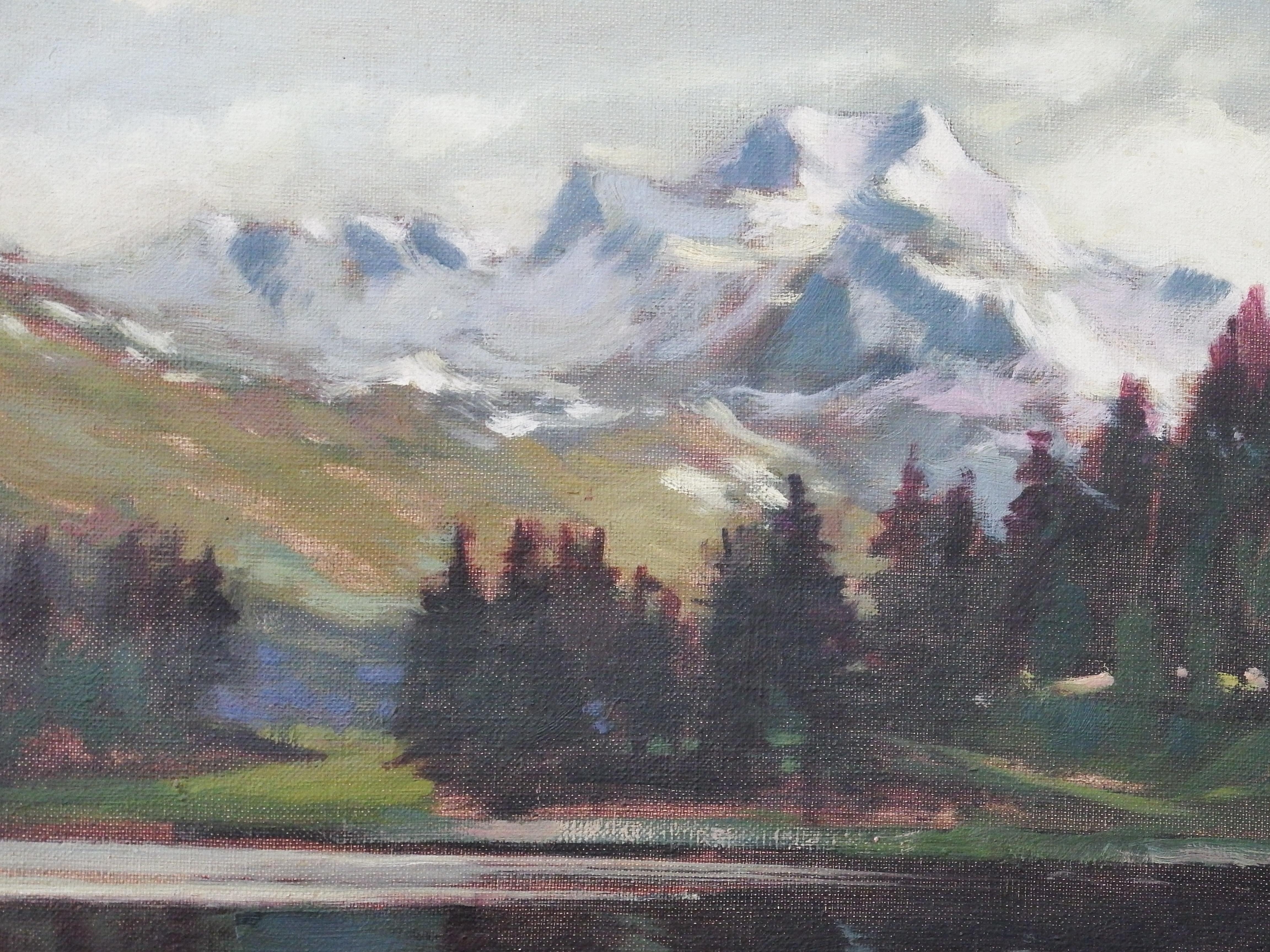 Pejzaż górski – Willy Nielson